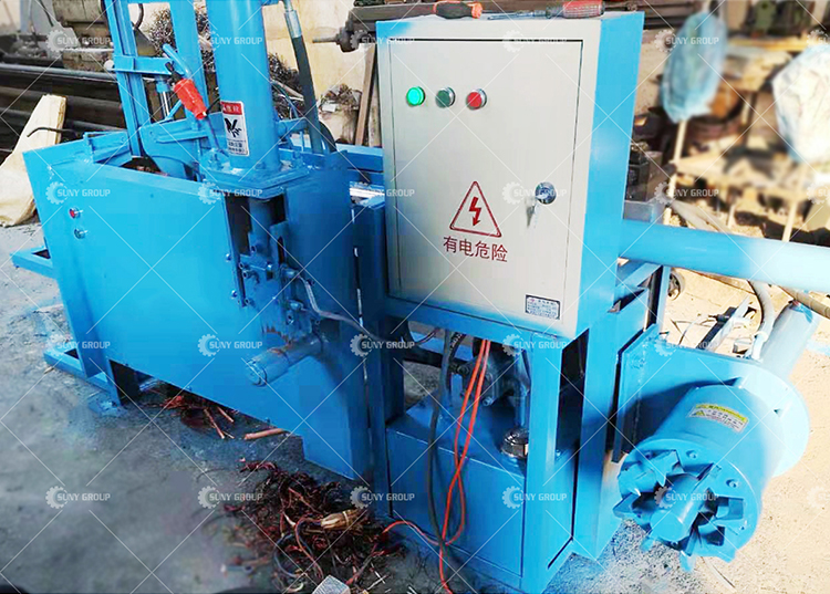 Scrap Motor Wrecker Electric Motor Recycling Machine Price