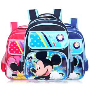 Top Quality New Design School Bag for Teenager,kids school packbag with cartoon mickey mouse and Minnie