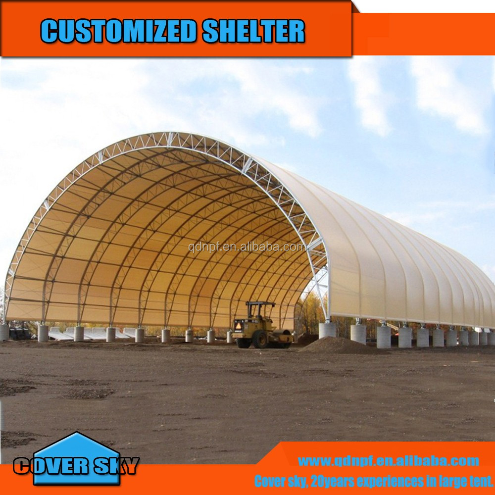 4060 tension fabric storage buildings tent