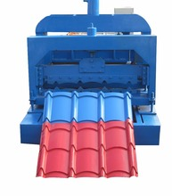 Iron Glazed Roofing Cold Steel Tile Making Machine