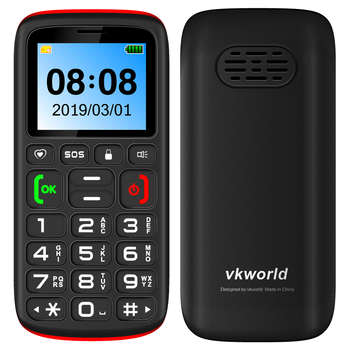 VKWORLD Z3 2G sos  Mobile Phone  Phone Big Sound 1.77 inch FM Cellphone for Old Man