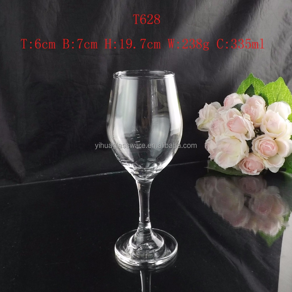 Unique Clear Red Wine Glass Wholesale/Multi-use Drinking Glass