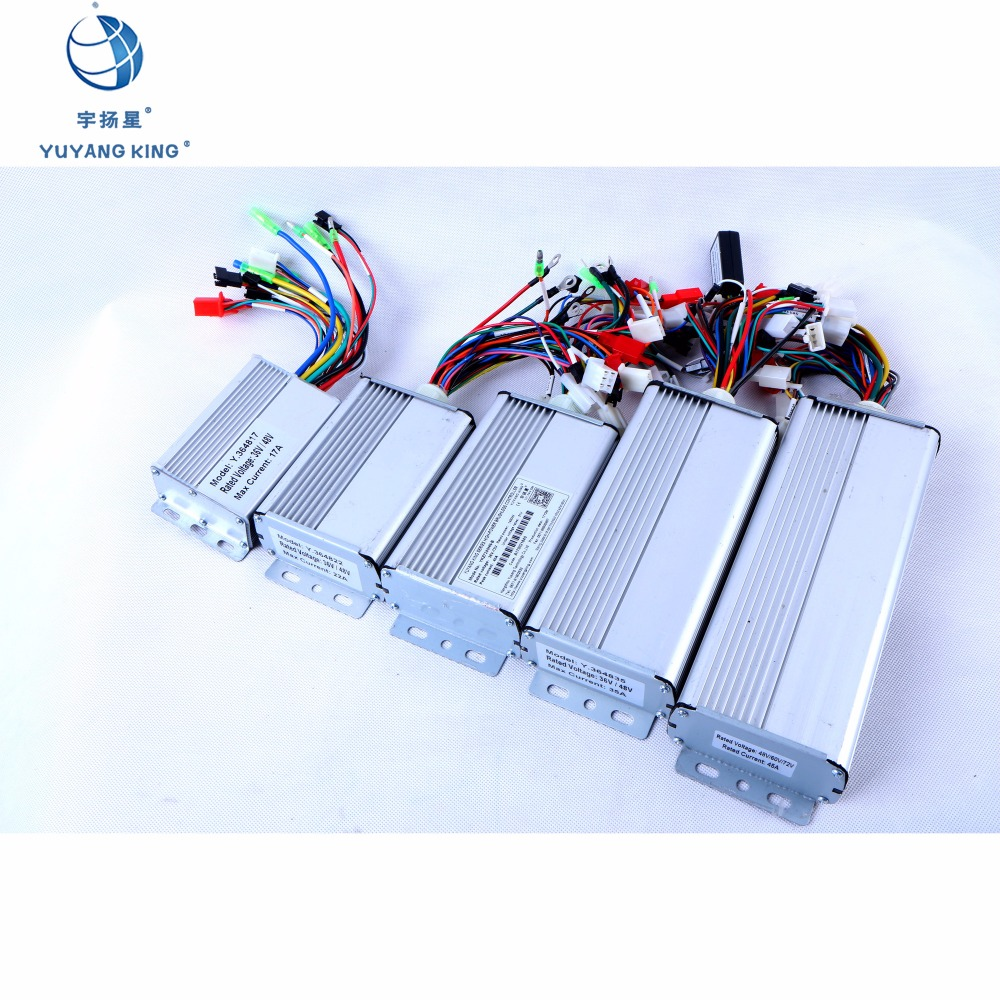 Driver Of Brushless Motor 48v 72v With Pas Regenerative