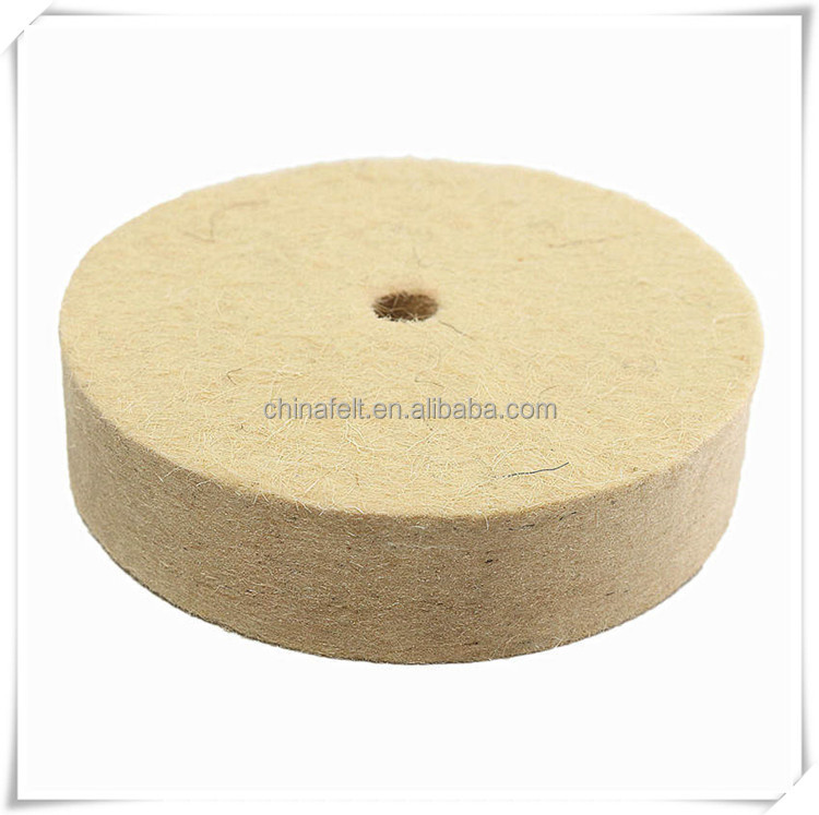 100% wool felt polishing wheel