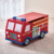 Teamson Kids - Trains & Trucks Fire Engine Toy Box