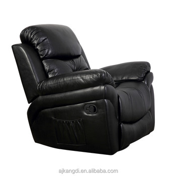 Massage 1+2+3 Recliner Bonded Leather Sofa Set KD D7139