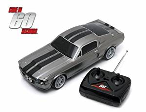 GREENLIGHT 1:18 RADIO CONTROL - 1967 FORD MUSTANG - ELEANOR - GONE IN SIXTY SECONDS (2000)