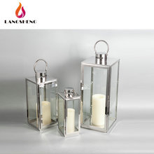 Wholesale factory direct sales fashionable stainless steel lantern