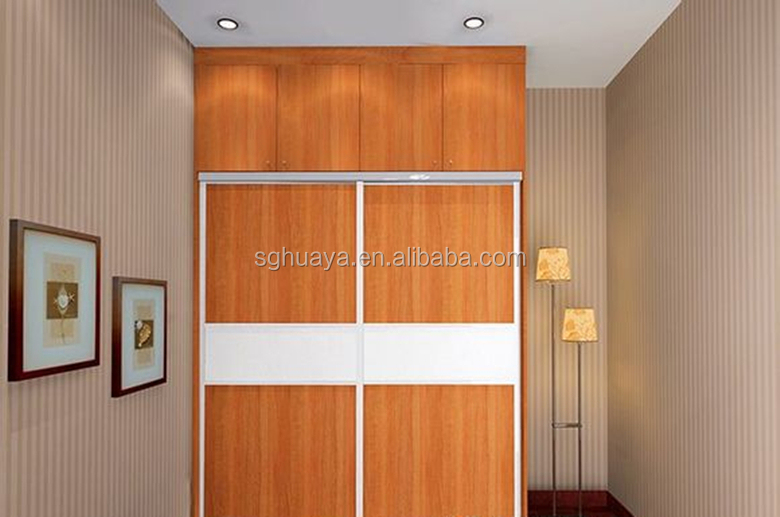Modern bedroom sliding door wardrobe design indian bedroom for Children bedroom designs india