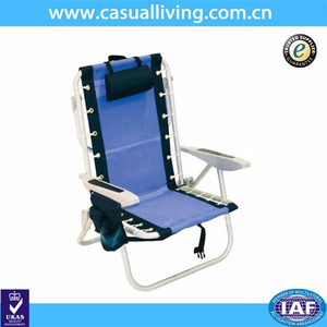 Camping Bule Backpack Chairs Target Folding Beach Aluminium Frame