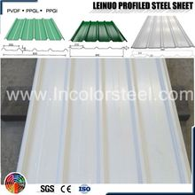best price width 820mm corrugated steel roofing sheet thermocol