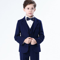 ZH1028B high quality 5 pieces set wedding piano costumes party clothes kids boy suit