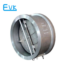 Stainless steel nature gas flap check valve