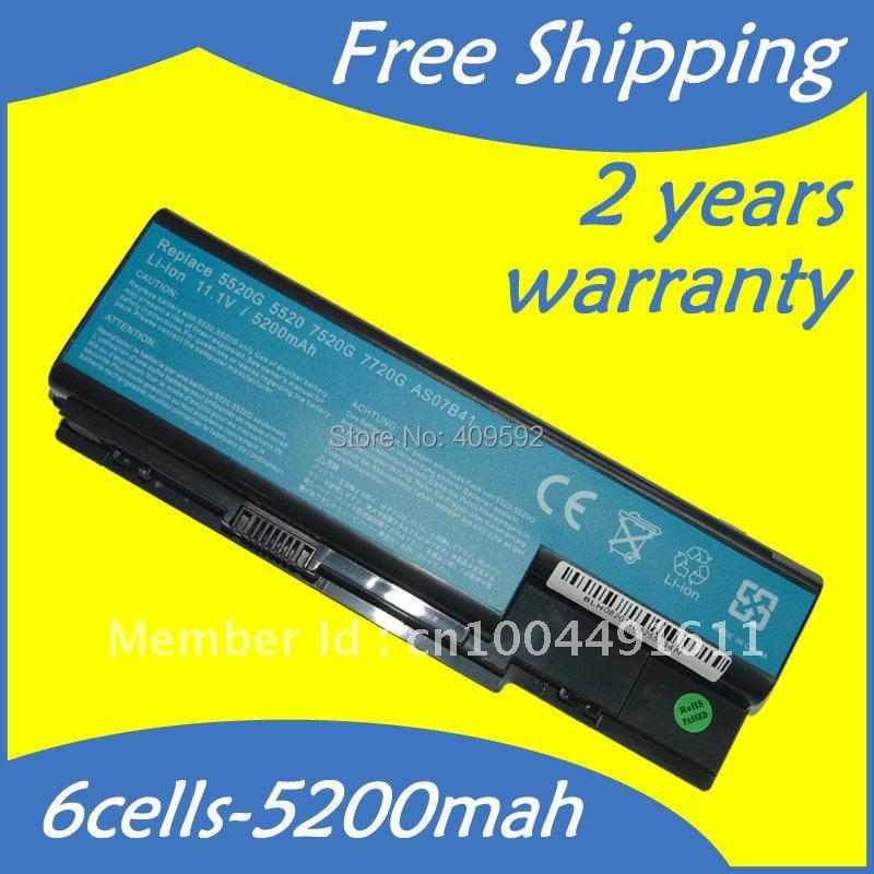 Замена аккумулятор ноутбук для AS07B31 AS07B41 AS07B51 AS07B61 AS07B71 для Acer TravelMate 7230 7330 7530 7530G 7730 7730G