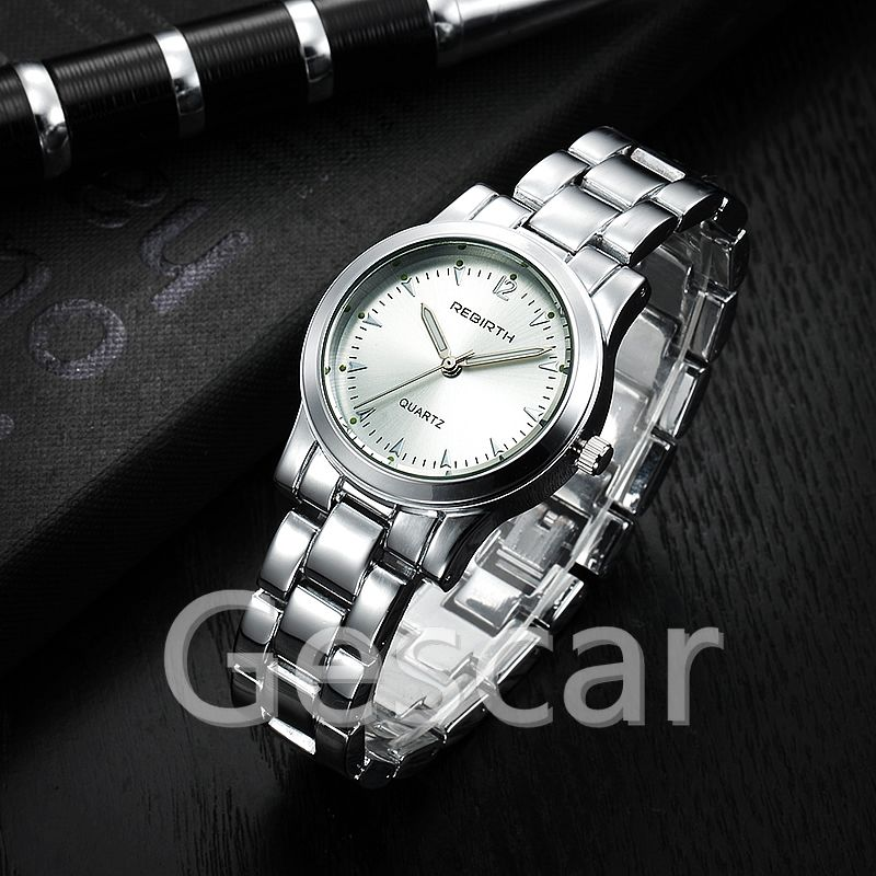 RE014 new arrival hot sale lady stainless steel rebirth quartz wrist watch for women