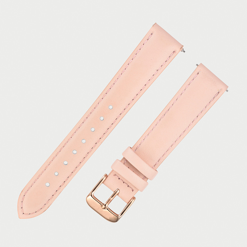 Full grain leather watch strap leather strap watch with quick release strap