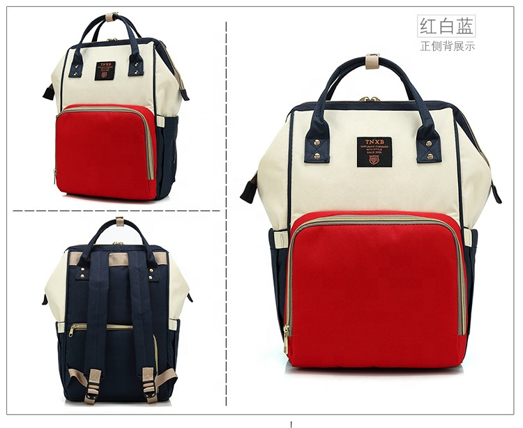 Sample purchase tote diaper bag backpack mom baby shoulder bag with Insulated  Pockets 69e70d1fa9a7a