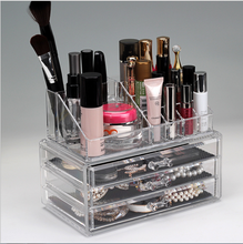 Cosmetische Organisator Holder Case Transparant Acryl Make-Up Borstel Opslag