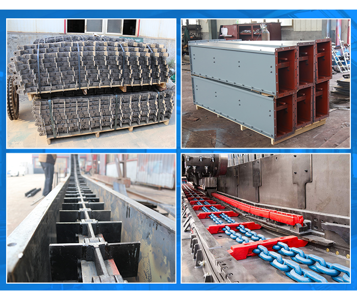 China supplier high efficient  heat resistant  drag chain en masse conveyor