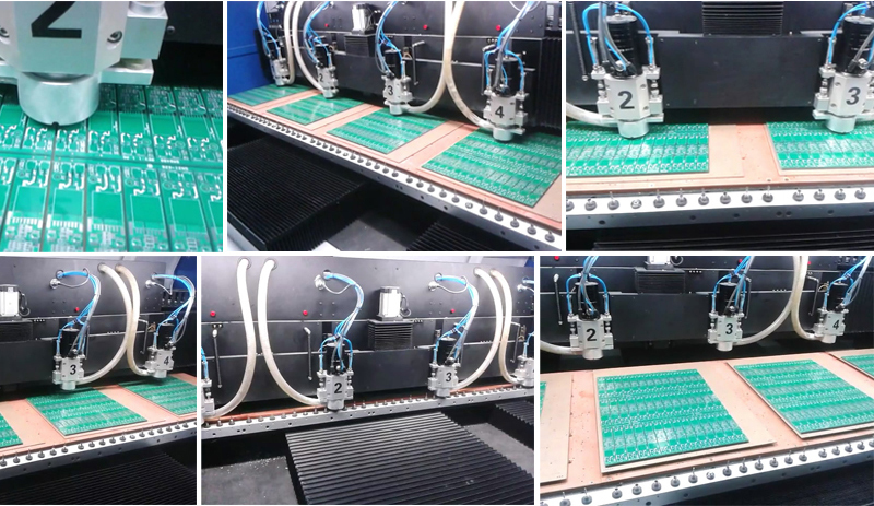 Aluminum Copper 2 Axis Granite Marble Cnc Pcb Drilling Machinery ...