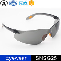 free samples Industrial UV dark lens protective safety glasses