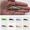 1Pcs Fishing Minnow Lure 8 5cm 7 7g Laser Reflective 3D Eyes Hard Baits 6 Hooks