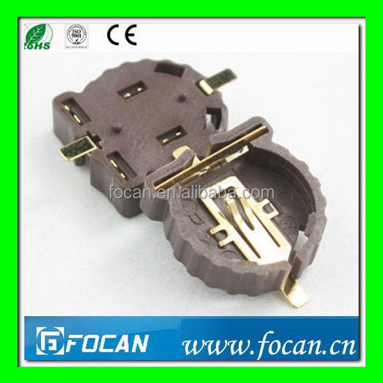 Nickel Plating/copper/stainless Steel Cr1220 Battery Holder,Cell ...
