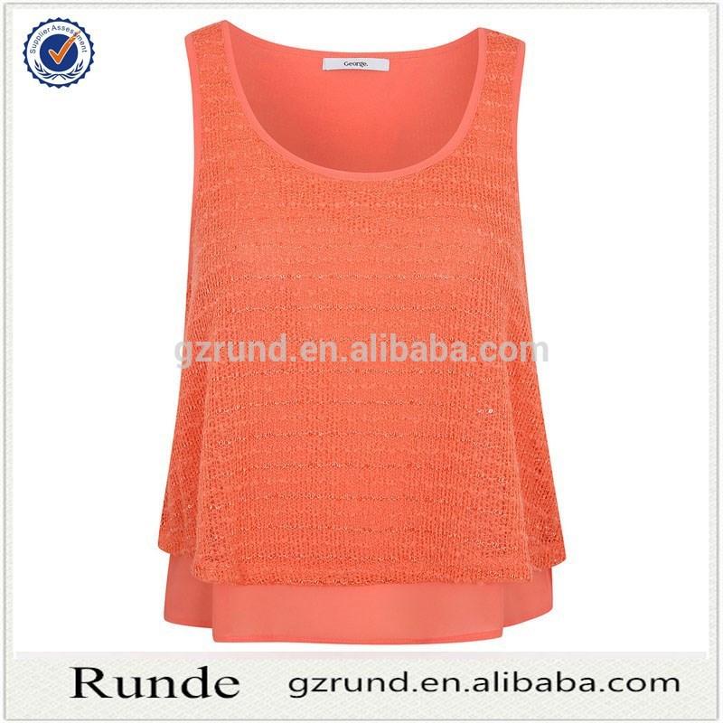 5ac1018b857 2015 venta caliente mujer blusas   tops para mujer de la gasa   moda mujer  blusas