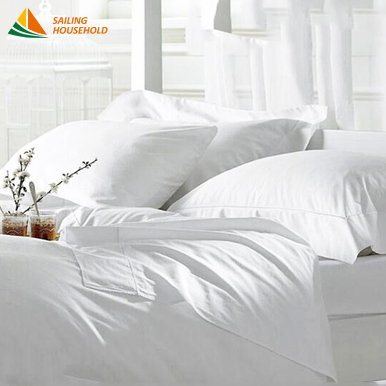 Hot selling star bedding sheet factory directly supplier hotel bed runner with low price
