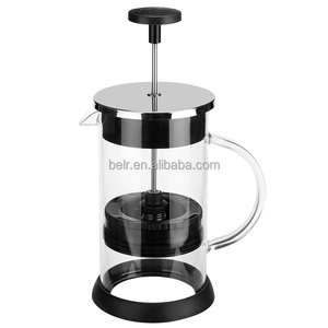 French Press Glass Coffee Cup Maker Cafetiere Filter 1000ML French Press Pot Coffee&Tea Press/ Coffee Maker