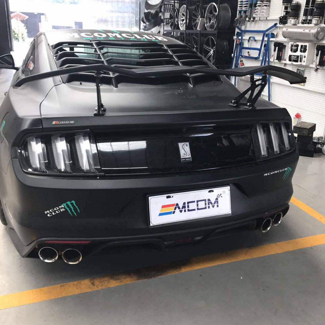 Car Styling Brand New ABS Posteriore Tronco Boot Lip Posteriore Spoiler Ala Coda Decorazione Per Ford Mustang Coupe 2015 2016