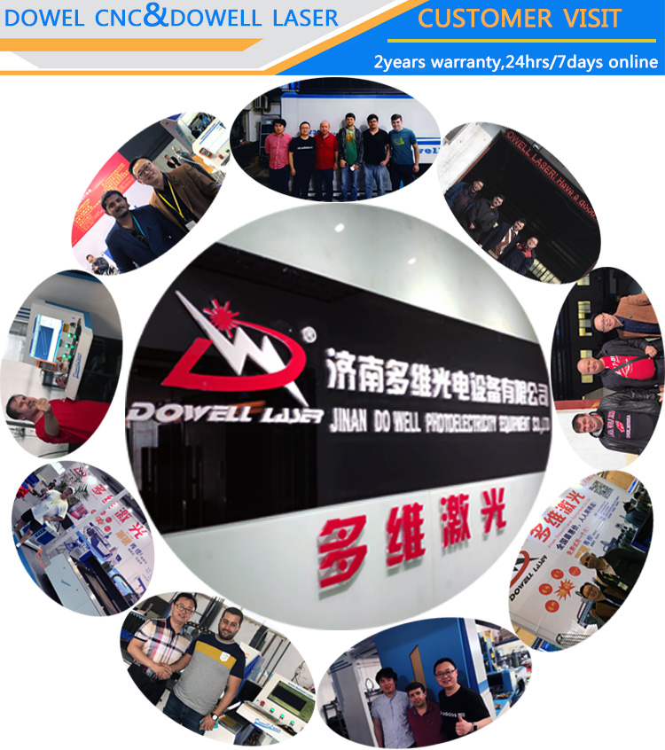DW6020 1000W Sheet Metal Pipe Fiber Laser Cutting Machine
