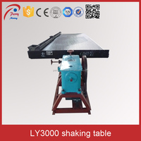 Simple Structure Gold Shaking Separator Mining Shaking Table
