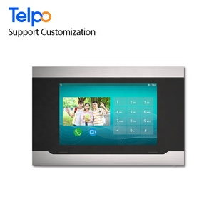 Best 10 Inch Ip Indoor Monitor Ethernet 2/3 Multi Family Wifi Video Intercom With Android Oem