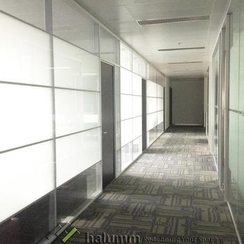 Kayu Dinding Ruang Tamu Furniture Room Divider Partisi Bergerak Komersial