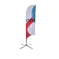 Custom Advertising Flying Beach Flag Banner Promotion Feather Flag Flying Flag And Banners