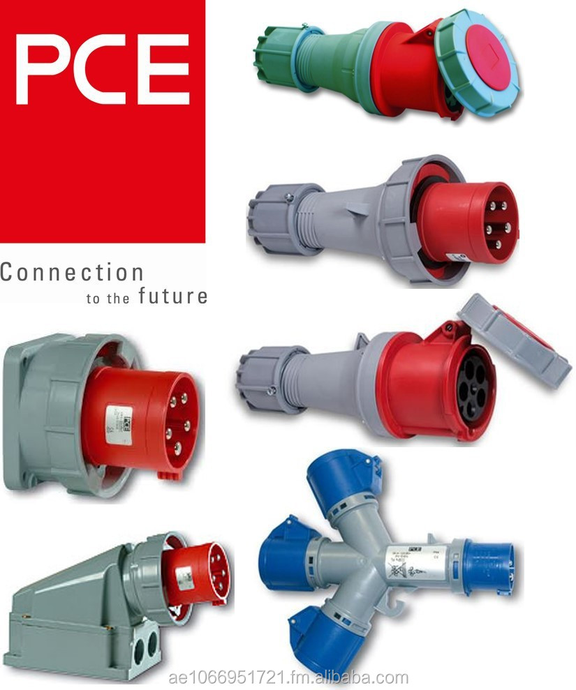 PCE Industrial Plug & Socket