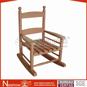 Cubby Plan Bwcc 007 Solid Wooden Rocking Folding Chair