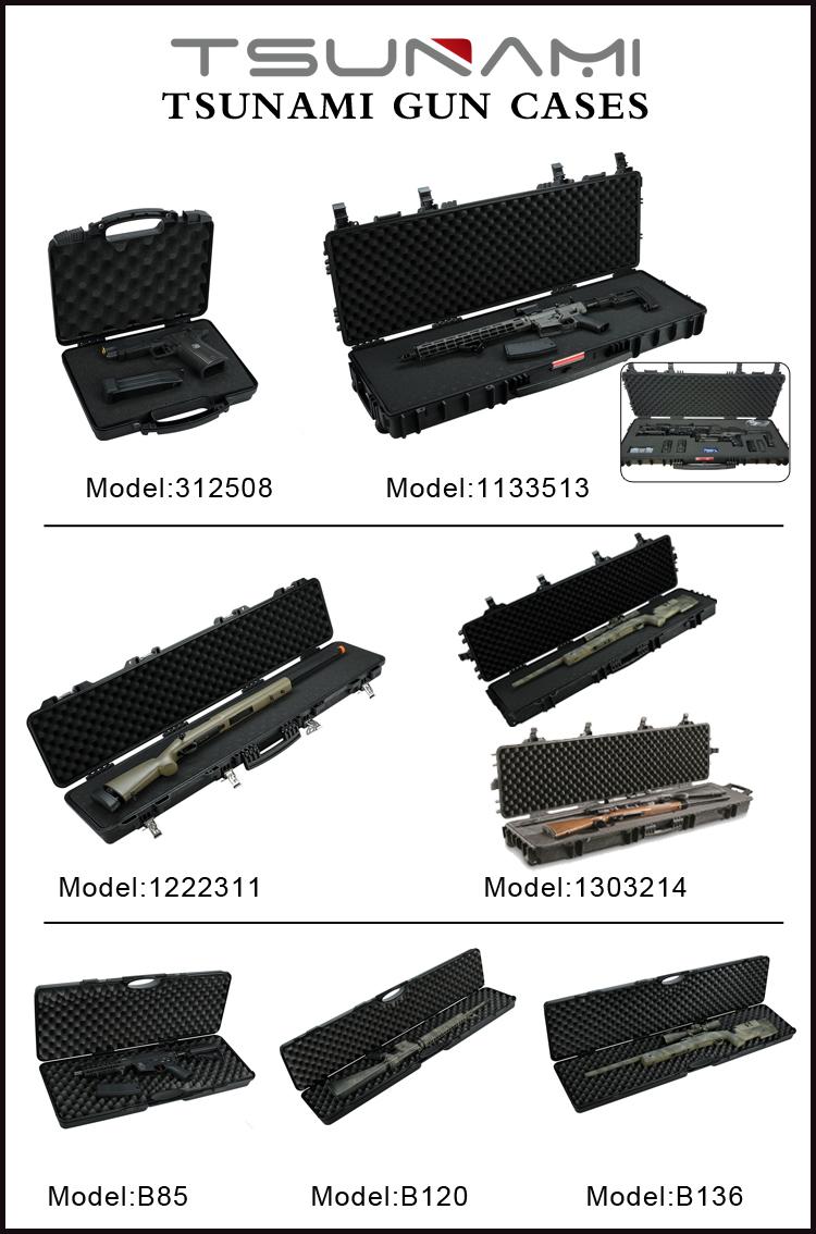 Su geçirmez Plastik Sert tüfek kılıfı Plano Tarzı Paintball Gun Vaka