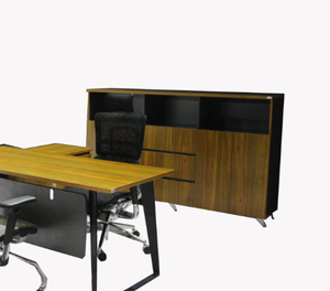 Durable qualified back office file cabinet for executive Desk design