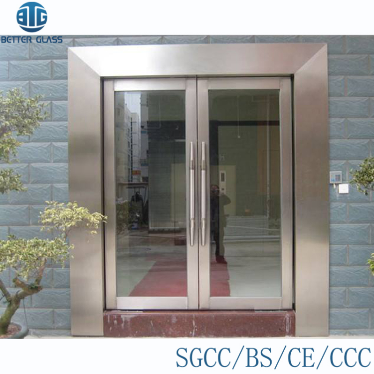 2 Hour Frameless Fire Rated Double Folding Glass Door Buy 2 Hour