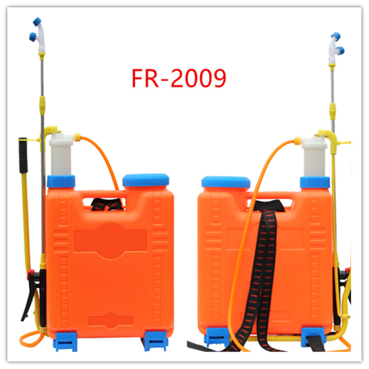 20 litres knapsack Transparent liquid level line manual sprayer