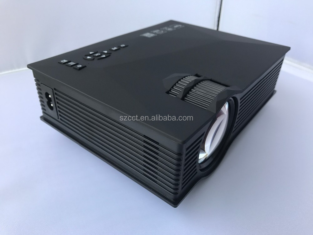 Wireless WIFI Mini Projector UC46 Portable Home Theater 1200Lumens LED Proyector USB WiFi support moblie
