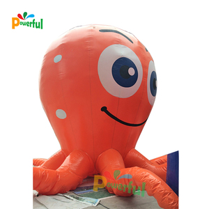 Outdoor inflatable model, giant inflatable octopus for advertising