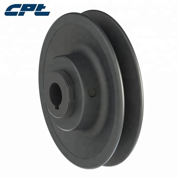 single groove VL variable speed sheave adjustable cost iron pulley for 3L/4L/5L/A/B/6V belt