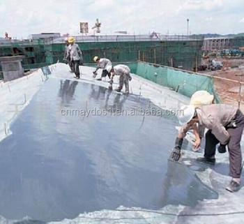 Highly Elastic Water proof paint Coating for building protection