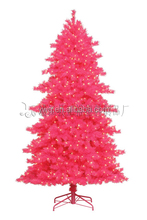 5ft pre-lit pink Christmas Tree 1.5m decorated outdoor