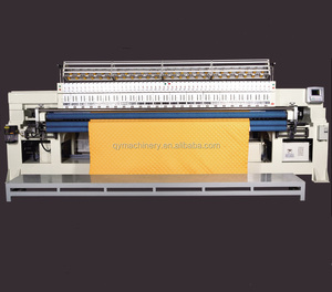 multihead embroidery quilting machine, multi-head rotary hook quilting embroidery machine