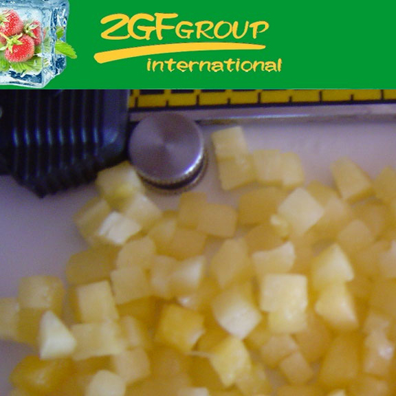 IQF Frozen Fresh pineapple export in good quality in bulk