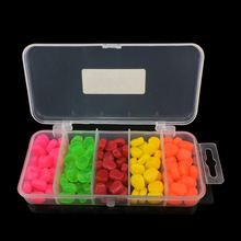 125pcs Multi-color Fake Carp Fishing Artificial Bait Sweet Corn Baits